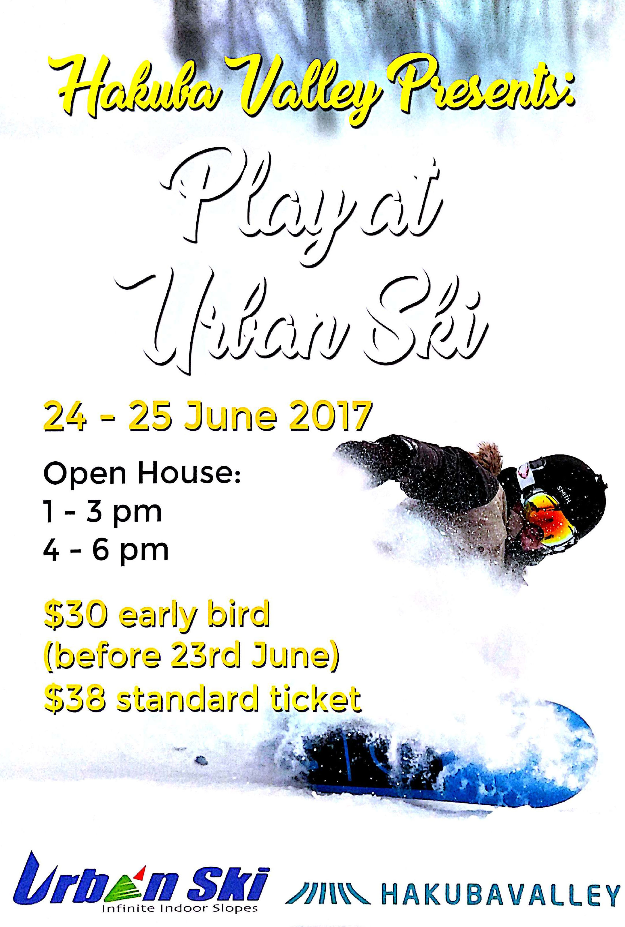 Play at Urban Ski small